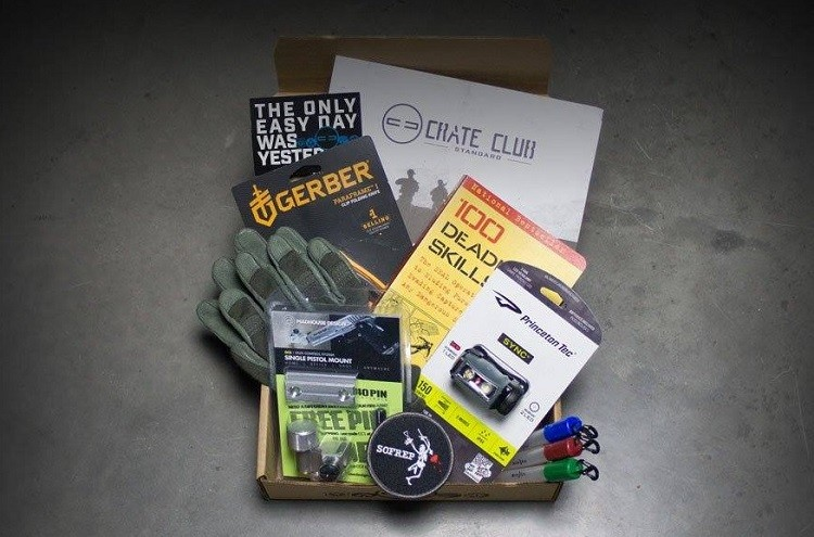 crate club unboxing