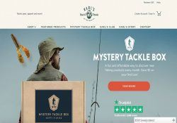 mystery tackle box webpage screenshot