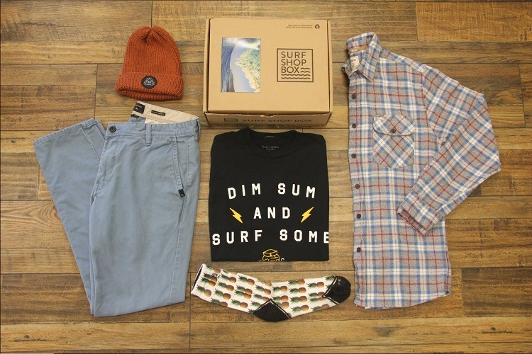 surf shop box apparel