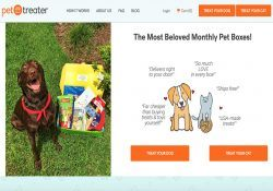 pet treater homepage