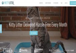 pretty litter homepage