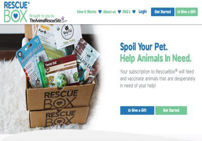 rescue box homepage