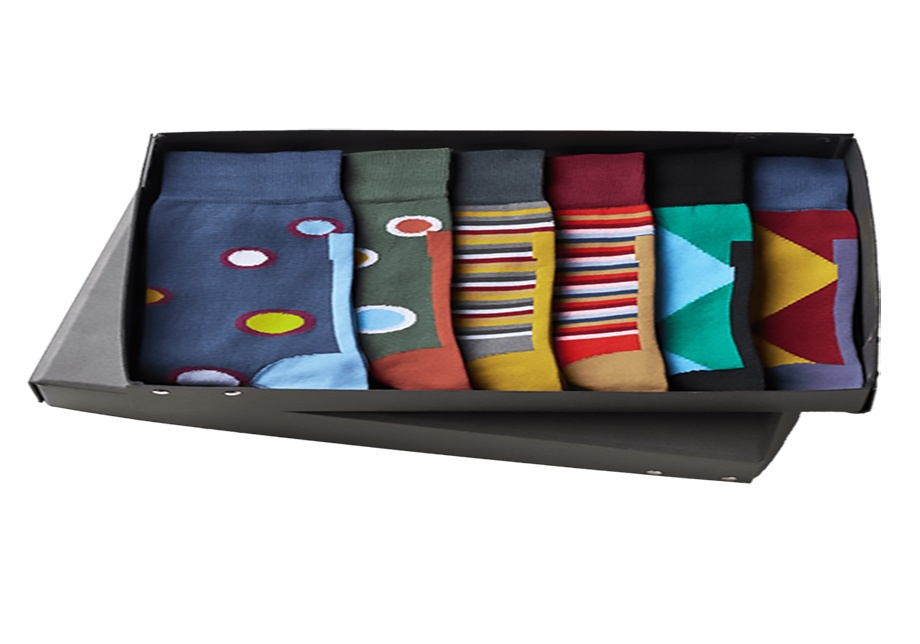 black socks box