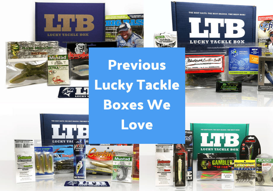 previous lucky tackle boxes
