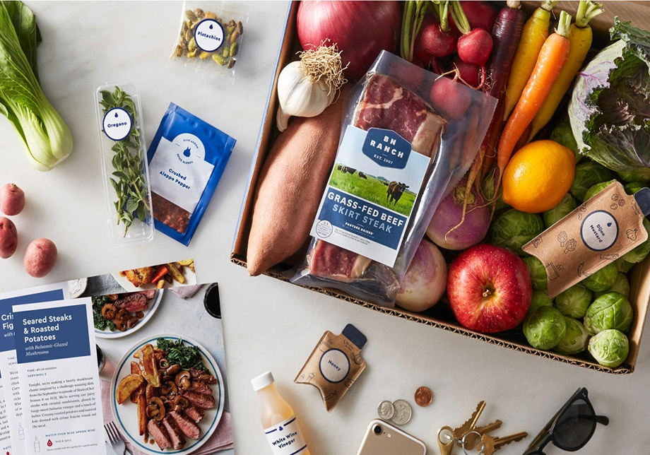 Blue Apron Subscription Box