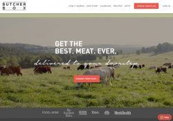 butcher box homepage