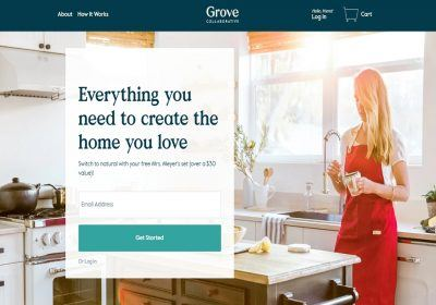 grove collaborative homepage
