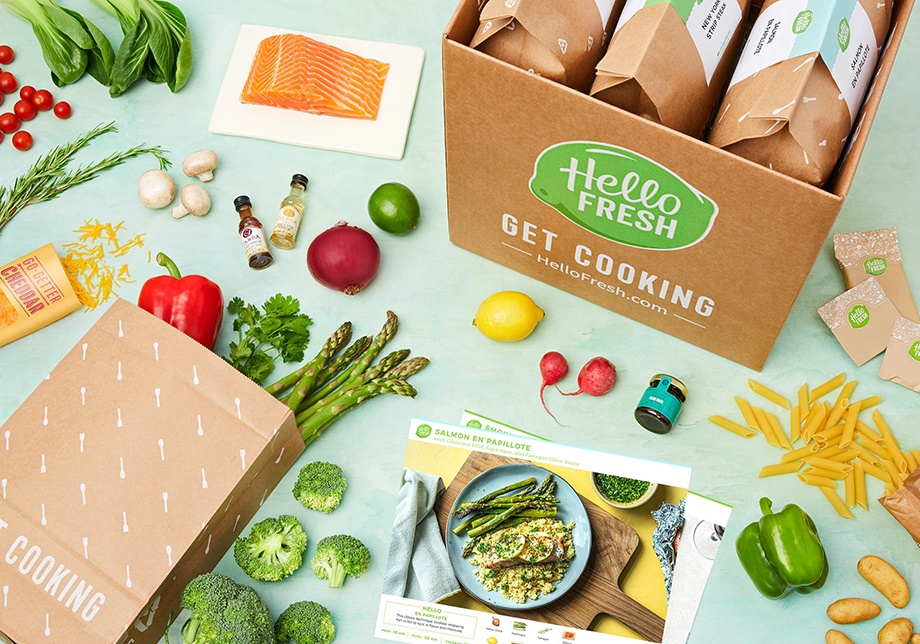 hello fresh food subscription box
