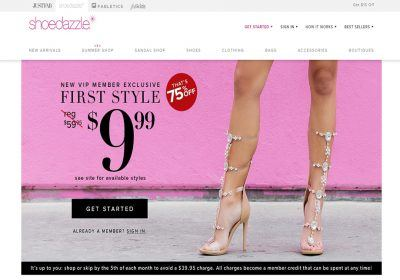 shoedazzle review