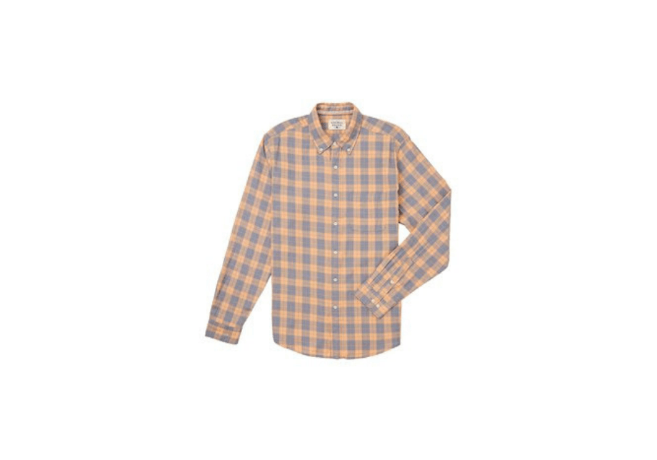 The Normal Brand - Two Tone Check LS Shirt