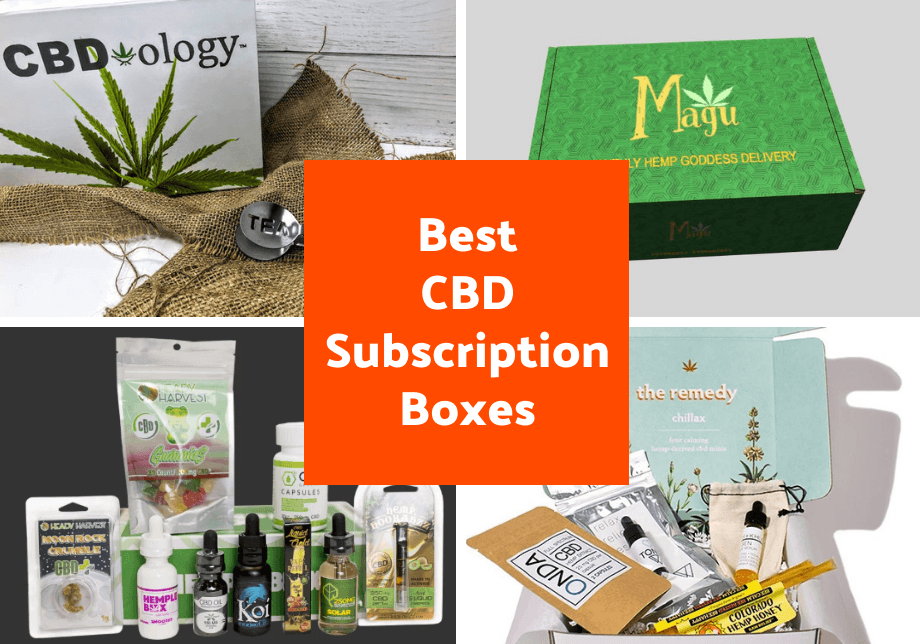 Best CBD Subscription Boxes