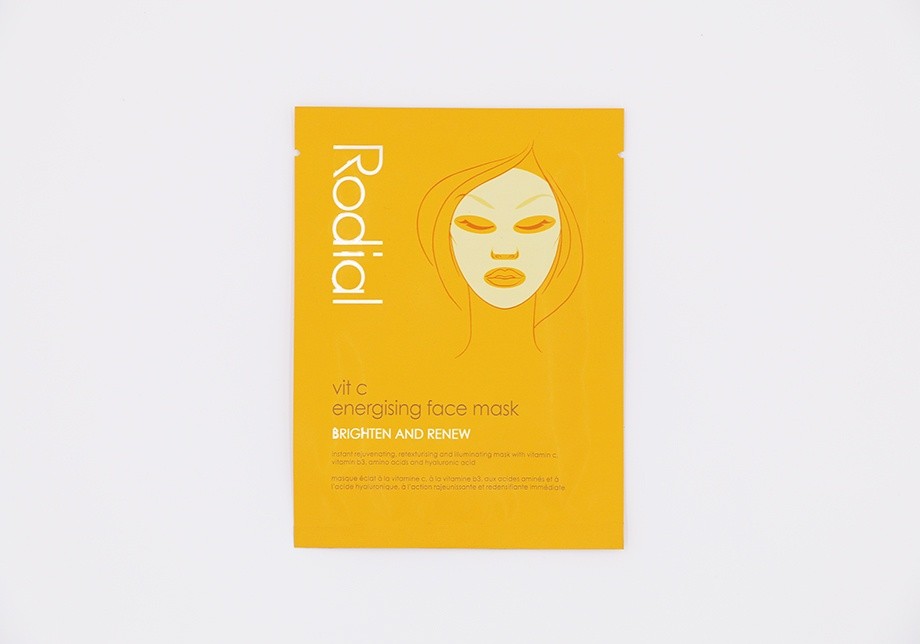 Radial Energising Face Mask